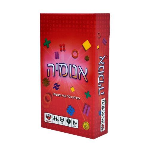 אנומיה אדום 100 קלפי משחק יחודיים
