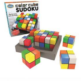 סודוקו צבעוני משחק אתגר לשחקן יחיד