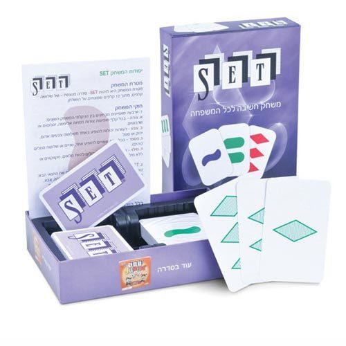 סט משחק קלפים