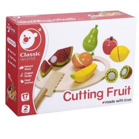 חיתוך פירות משחק אתגרים לקטנים