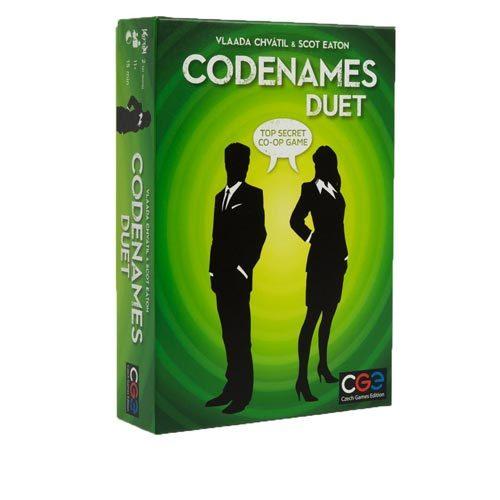 Codenames Duet גירסה באנגלית