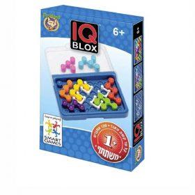 IQ BLOX משחק אתגר לשחקן יחיד