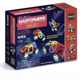 MAGFORMERS 16 משחק מגנטים