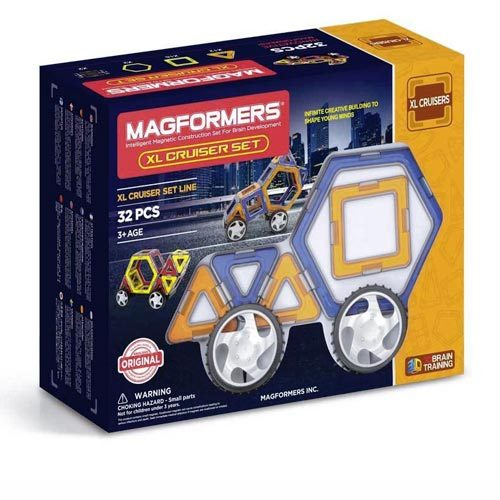 MAGFORMERS 32 משחק מגנטים