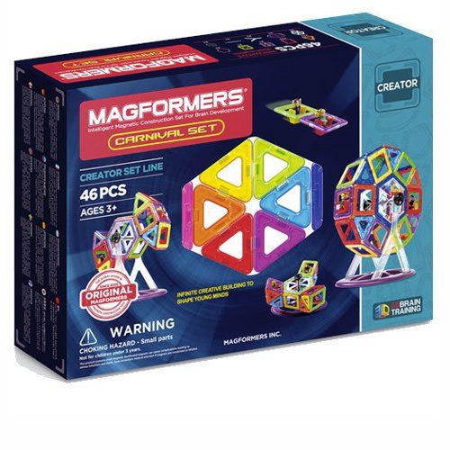 MAGFORMERS 46 creator משחק מגנטים