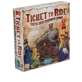 Ticket to ride usa משחק חברתי