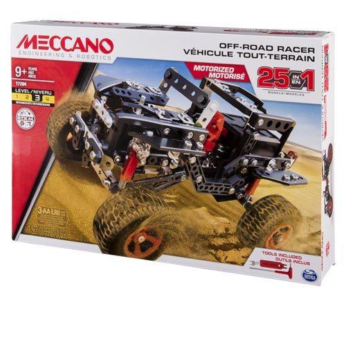 Meccano - מולטי רייסר - 25 דגמים