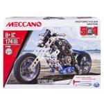 Meccano - ערכה לבניית אופנוע - 5 דגמים