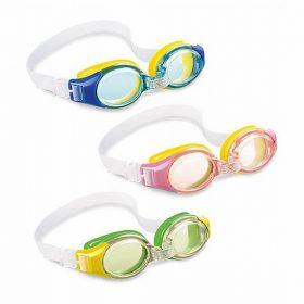 משקפי שחיה ג'וניור 3-8 INTEX 55601