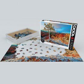 פאזל 1000 חלקים איכותי מבית EUROGRAPHICS דגם 6000-0692 Winter Sunrise