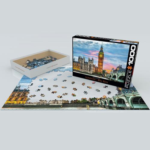 פאזל 1000 חלקים איכותי מבית EUROGRAPHICS דגם 6000-0764 London Big Ben