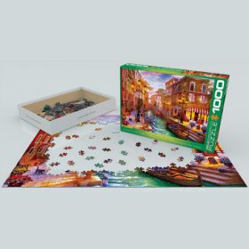 פאזל 1000 חלקים איכותי מבית EUROGRAPHICS דגם 6000-5353 Venetian Romance