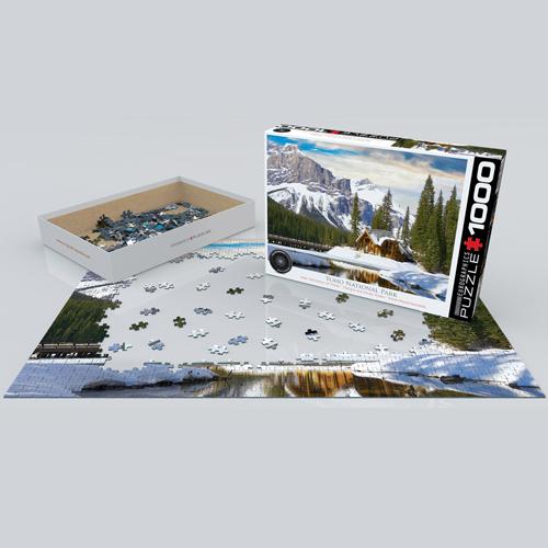 פאזל 1000 חלקים איכותי מבית EUROGRAPHICS דגם 6000-5428 Yoho National Park BC