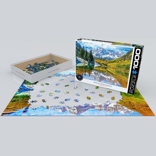פאזל 1000 חלקים איכותי מבית EUROGRAPHICS דגם 6000-5472 Rocky Mountain National Park
