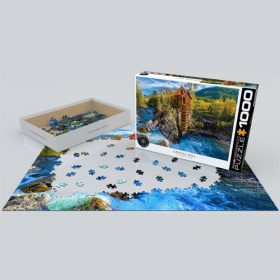 פאזל 1000 חלקים איכותי מבית EUROGRAPHICS דגם 6000-5473 Crystal Mill