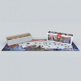 פאזל 1000 חלקים איכותי מבית EUROGRAPHICS דגם 6010-5331 To Grandma's House We Go