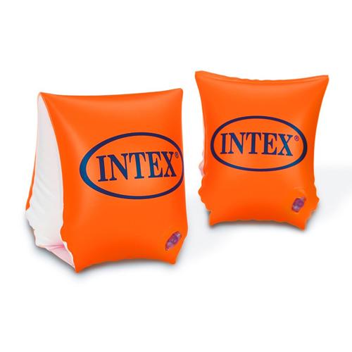 אינטקס לבריכה מצופים כתומים משולשים בינוניים 3-6 INTEX 58642
