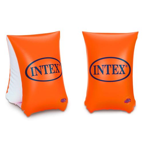אינטקס לבריכה מצופים כתומים משולשים גדולים 6-12 INTEX 58641