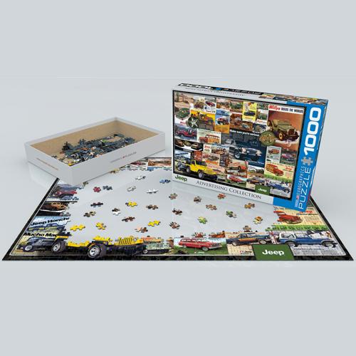 פאזל 1000 חלקים - אוסף ג'יפים