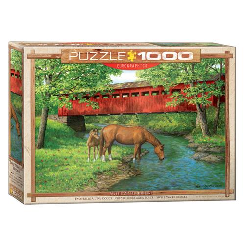 פאזל 1000 חלקים - גשר מים מתוקים