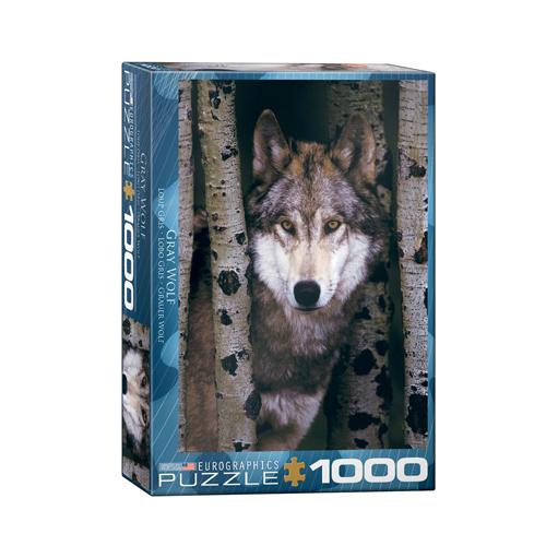 פאזל 1000 חלקים - זאב אפור