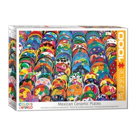 פאזל 1000 חלקים – גולגולות מקסיקניות מסורתיות
