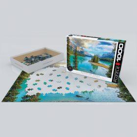 פאזל 1000 חלקים – אגם מאלין – אלברטה