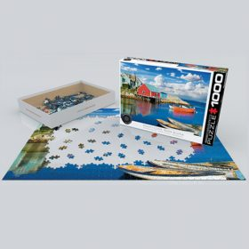 פאזל 1000 חלקים – המפרץ של פגי נובה סקוטיה