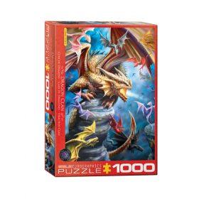 פאזל 1000 חלקים – שבט הדרקון