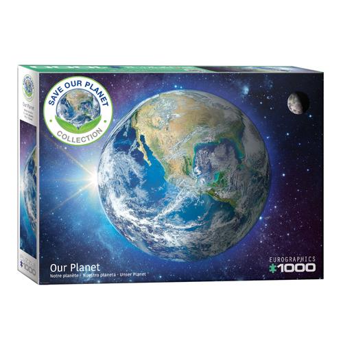פאזל 1000 חלקים כוכב הלכת שלנו