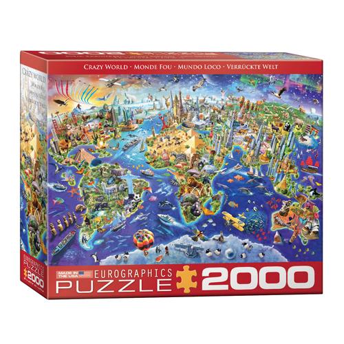 פאזל 2000 חלקים – עולם משוגע