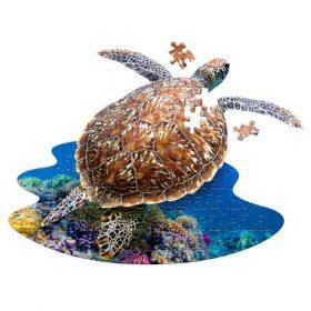 פאזל ייחודי בצורת צב ים