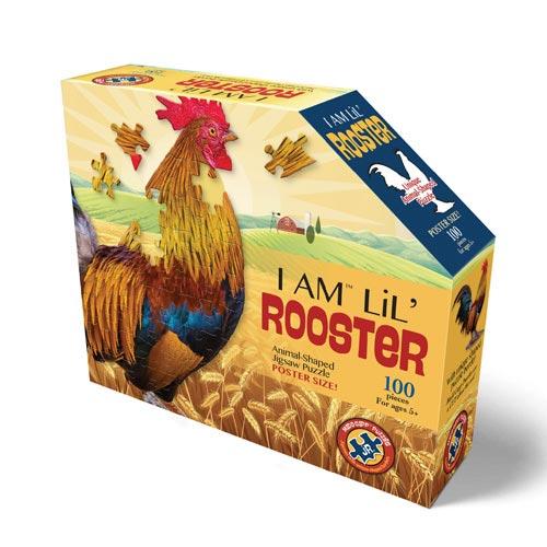 פאזל ייחודי בצורת תרנגול
