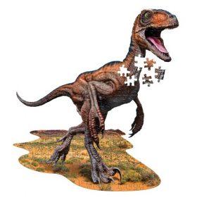 פאזל ייחודי בצורת דינוזאור רפטור