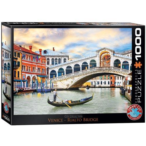פאזל 1000 חלקים מבית אירוגרפיק בחיתוך SMART CUT גשר ריאלטו בוונציה