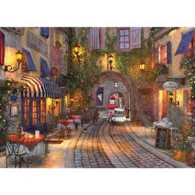 פאזל 1000 מבית אירוגרפיק בחיתוך SMART CUT חלקים רחוב צרפתי