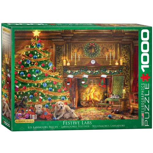 פאזל 1000 מבית אירוגרפיק בחיתוך SMART CUT חלקים חג המולד
