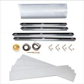 Easy Front-Loading Aluminum Frame Kit